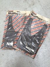 Nissan sunny N13,new Genuine Accessory Mudflaps,set Of Four,new In Pack.