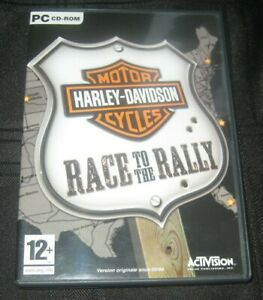 HARLEY-DAVIDSON RACE TO RALLY PC GAME