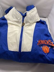 Pro Player New York Knicks Jacket Vintage Adult Size Medium