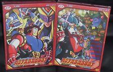 LIMITED BOX 8 DVD ANIME/MANGA-ASTRO ROBOT 1,2-SERIE COMPLETA mazinga,goldrake,gx