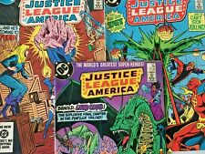 JUSTICE LEAGUE AMERICA. NO'S 225-227  (3 ISSUE FULL STORY SET) VINTAGE 1984.
