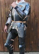 18GA Medieval Armor Full Body Suit Of Gothic captain's Cuirass Armor Full Suit