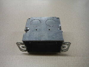 """Raco 2x4"""" Galvanized Electrical Junction Box"""