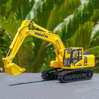 1/50 Scale KOMATSU PC220-10 Excavator Metal Tracks Diecast Model Toy Collection