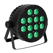 LED Stage Par Light RGBW DMX512 Control Color Mixing 12x10W DJ Party Uplighting