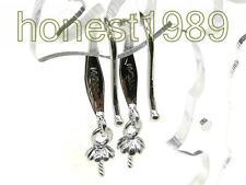 14K Gold Filled Hook Earring Setting & Pin Finding DIY Dangle Earring (2 Pieces)