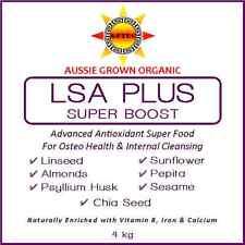 L.S.A Mix Plus Super Boost 4kg - Premium Organic Australian