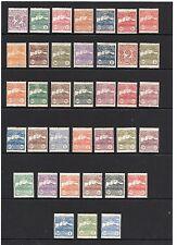 San Marino, Scott 40-76 H, 1903-1925, Mount Titano Complete Set, Scarce Complete