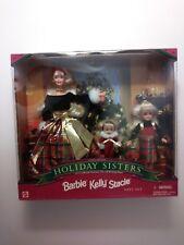 "BARBIE   -  ""HOLIDAY SISTERS""   -  Special Edition  -  1998   -   NIB"