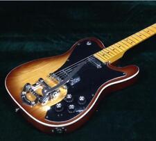Starshine Electric Guitar Bigsby Bridge ASH Body 1H1S Pickups Tobacco Sunburst