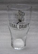 Legal Draft Brewery Know Your Rights Pint Beer Glass Arlington Texas