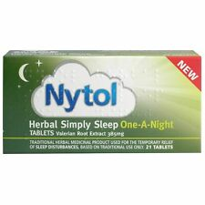 Nytol Herbal Simply Sleep One A Night Insomnia Sleeping Tablets 21 **Multibuy**