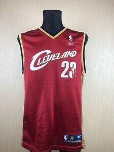 CLEVELAND CAVALIERS NBA LEBRON JAMES BASKETBALL JERSEY SWINGMAN REEBOK SIZE M
