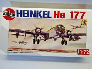 Airfix 1:72 Scale Heinkel He 177 German WWll Bomber Model Kit - New - Kit #05009