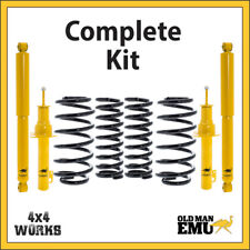 Old Man Emu for Nissan Patrol Y60 Diesel Suspension Bundle COMPLETE KIT Lift SWB