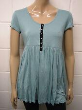 Papaya Viscose Scoop Neck Casual Tops & Shirts for Women