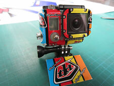 GoPro 3 HD Hero and HD Hero3 Sticker for housing decals graphic striped troylee