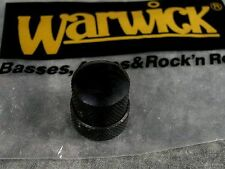 NEW WARWICK BLACK STACKED KNOB FOR TONE VOLUME POT THUMB STREAMER BASS PARTS