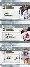 09-10 ITG Nathan Lieuwen Auto Between The Pipes Autograph Future Stars