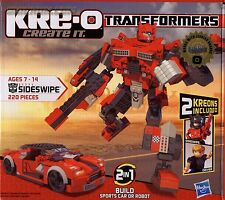 SIDESWIPE Transformers KRE-O Set MISB new kreo G1 side swipe
