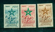 BANDIERE - FLAGS MOROCCO (Kingdom) 1957 International Fair