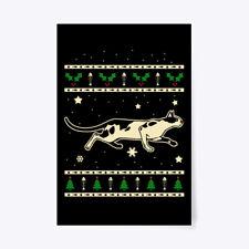 "Christmas Oriental Shorthair Gift Poster - 24""x36"""
