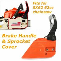Brake Handle & Sprocket Cover Plastic for Baumr-Ag SX62 62cc Chainsaw Chain