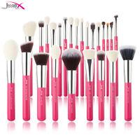 Jessup Make up Brushes Set 25Pcs Pink Powder Foundation Eyeshadow Cosmetic Kit