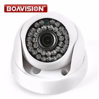 Caméra Dôme Connectée 720P 1080P HD IP Intérieur IR Lentille 3.6mm 2MP CCTV C...