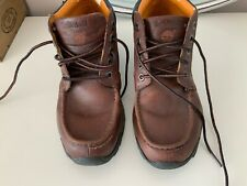 Timberland Boys Size 5M Leather Ankle Boots Brown