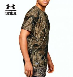 Men's Under Armour UA ISO-Chill Brush Line Shirt SS Real Tree Timber 1351143-980