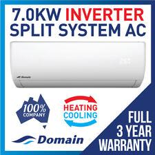 NEW DOMAIN PREMIUM 7.0KW INVERTER REVERSE CYCLE SPLIT SYSTEM AIR CONDITIONER AC