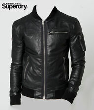 Superdry Zip Leather Coats & Jackets for Men