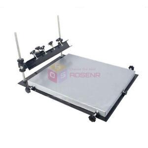 Brand New L Size Manual Solder Paste Printer,PCB SMT Stencil Printer 600x450mm