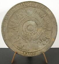 Médaille Mexico cuauhxicalli calendrier Aztèque piedra del sol pierre du soleil