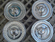 1958 OLDSMOBILE DYNAMIC EIGHTY EIGHT NINTY EIGHT ROCKET HOLIDAY FIESTA HUBCAPS