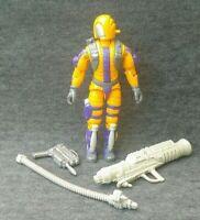 H.E.A.T Viper v1 GI Joe 1989 Hasbro Action Figure Vintage Authentic Cobra ARAH