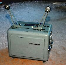Bell & Howell Design 614 Telecine  MIL Spec.16 mm dual sound projector w/ manual