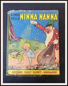 ⭐ NINNA NANNA sovracc. - Sinfonie Allegre Mondadori Disney 1935 - DISNEYANA.IT ⭐