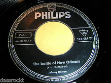 "7"" - Johnny Horton & Johnny Cash/Battle of New Orleans & Frankie's Man # 2595"