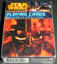Star Wars Story of Darth Vader Playing Cards Deck Sealed