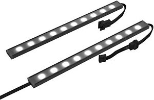 NZXT Underglow Accessory AH-2UGKK-A1 Two 300mm RGB LED Strips 15 LEDs Per Strip