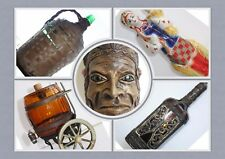 Collectible Bottle Decanter Wine Vodka Beer Whiskey Scotch Soda Milk Liqueur #3