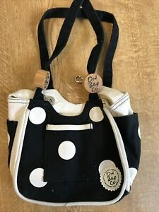 Lovely Old Bag Company Black And White Spotted Bag