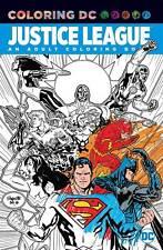 JUSTICE LEAGUE ADULT COLORING BOOK Color DC Comics Softcover