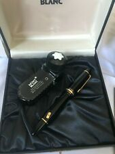 Montblanc Meisterstuck 149 Diplomat Fountain Pen, 18K Broad Nib- Mint Condition