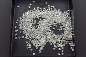 100%Natural Loose Diamonds Round Brilliant Cut G Color VS1 Clarity 10 Pieces Lot