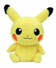 Sekiguchi Pokemon Plush Doll Moco Moco Pikachu (Boy) NEW from Japan