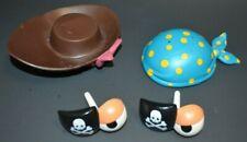 MR. POTATO HEAD Parts Lot Disney Parks PIRATES of the Caribbean POTC HATS PATCH
