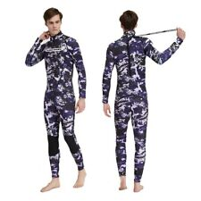 3mm Neoprene Diving Suit Long Sleeve Back Zipper Wetsuits For Snorkeling Surfing
